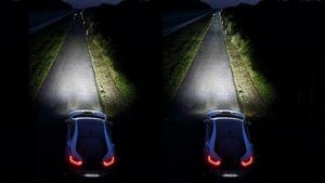 BMW i8 Laserlicht Testfahrt