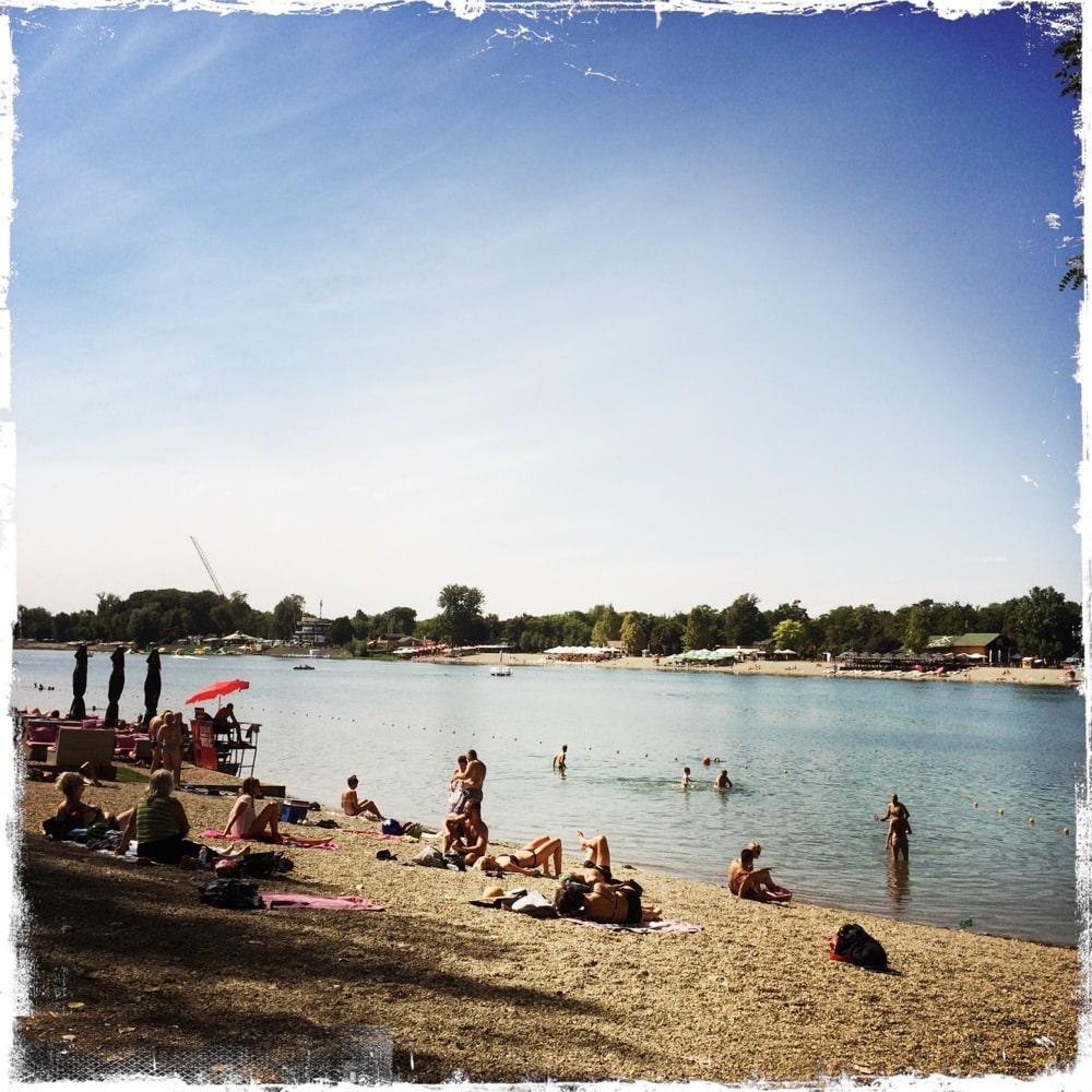 Ein Tag am Wasser