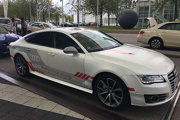 Audi Jack Autopilot