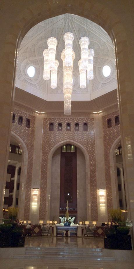 Al-Bustan-Palace-oman-eingang