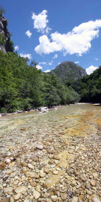 Fluss Rakitnica - gelbe Farbe