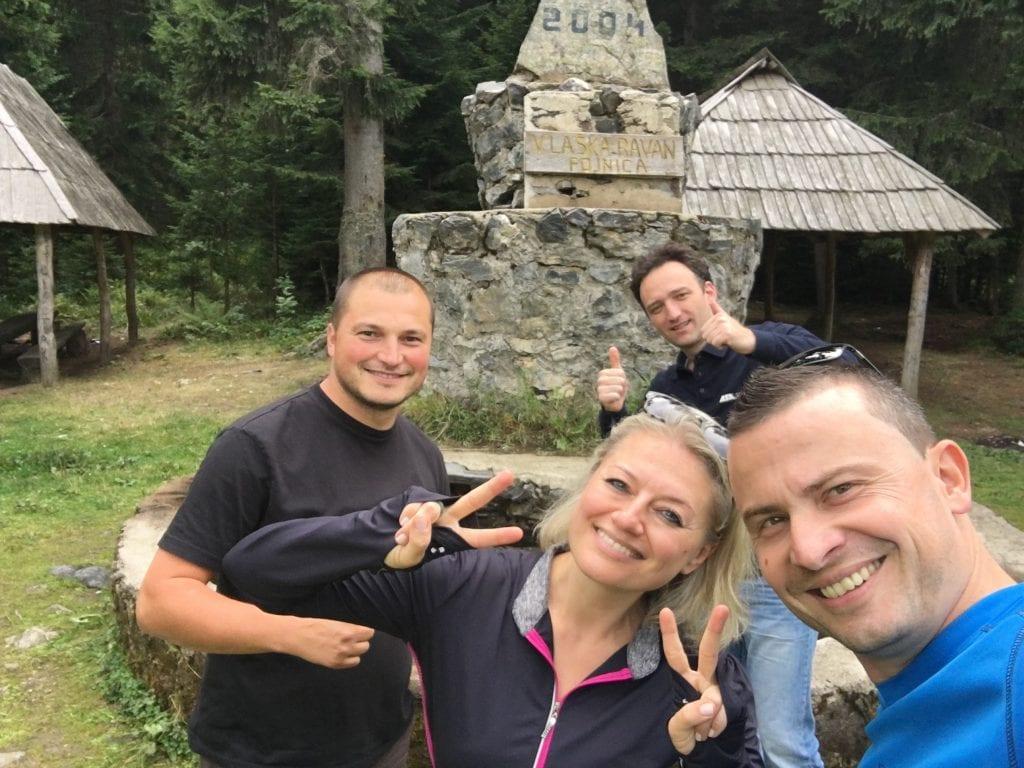 Almir, Elmedin und Faruk (v.l. n.r.) von Superb Adventures Tours (Foto: balkanblogger)