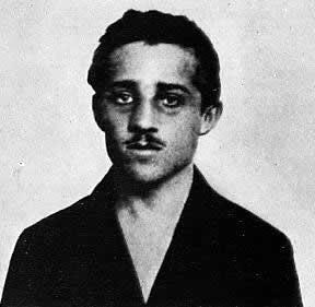 Portrait of Gavrilo Prinzip